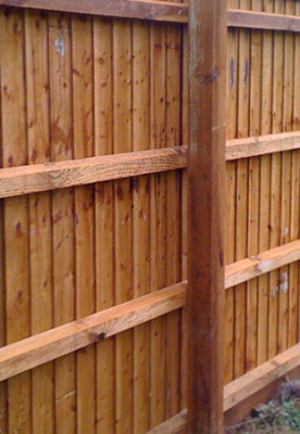 Sawn Fencing and Landscaping