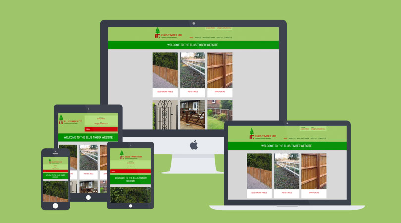 New Ellis Timber website