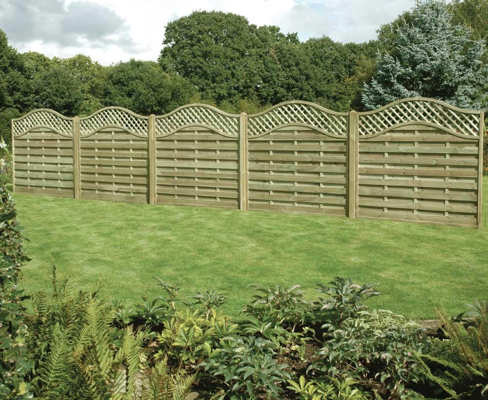 Ellis timber ltd decorative fencing panels ellis timber ltd omega lattice top panel baanklon Choice Image