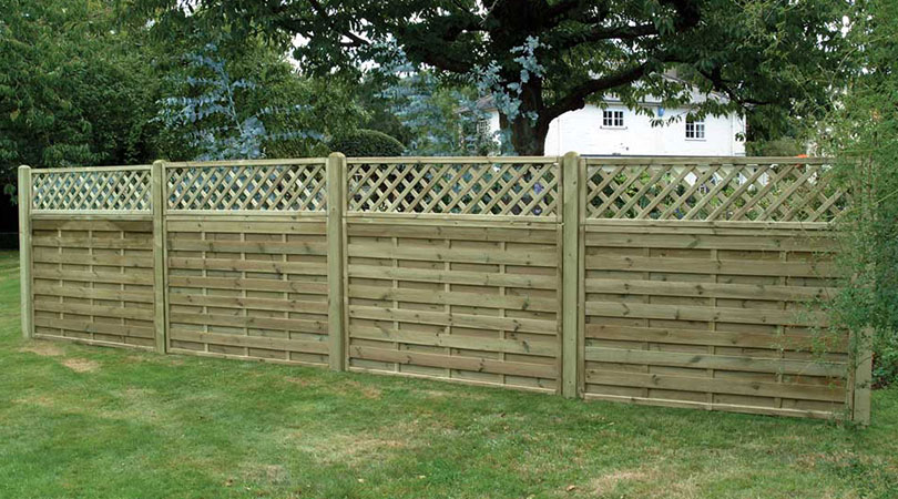 Slotted Fence Posts