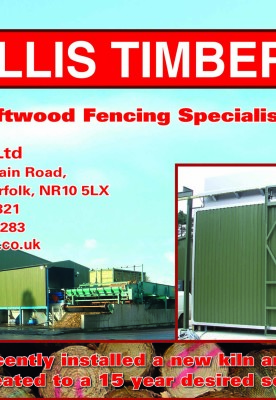 Ellis Timber Advert and News Story in Fencing News