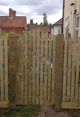 Picket Gate Supplier Norwich