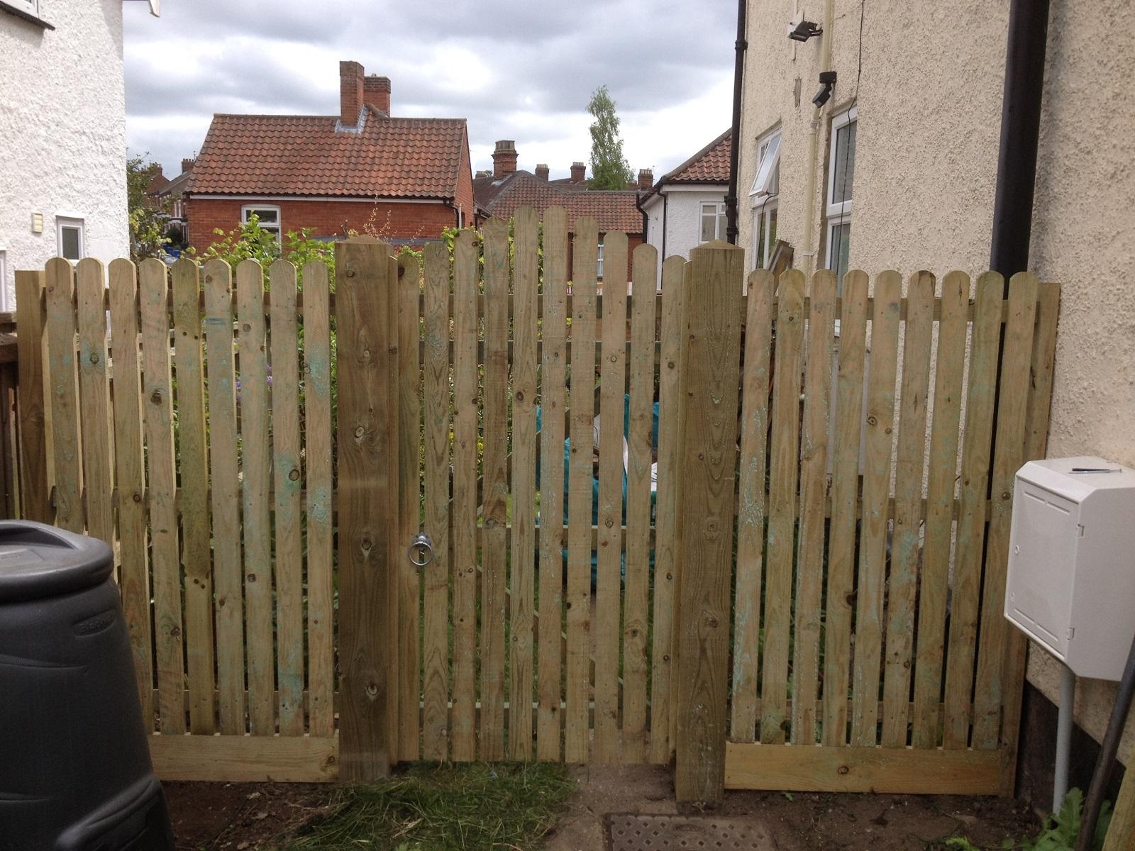 Picket Gate Supplier Norwich